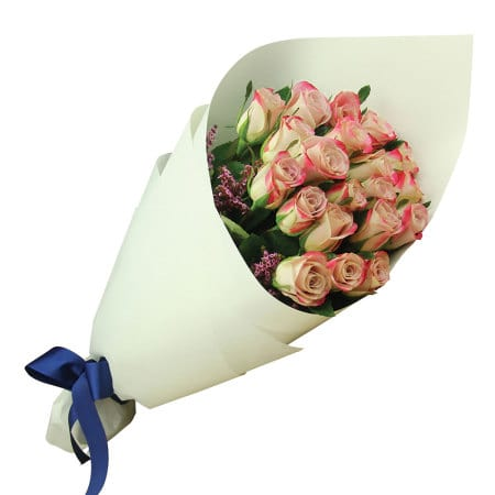 Pretty Pink Rose Bouquet Delivered Sydney