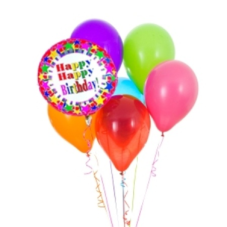 Happy Birthday Balloon Bouquet Same Day Sydney Delivery