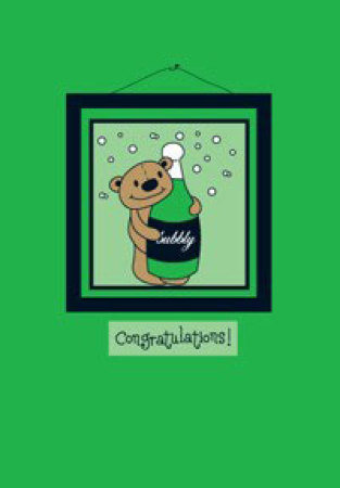 Green Congratulations Gift Card