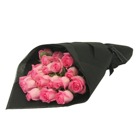 Cheap hot pink roses sydney value flowers hot pink roses mightylinksfo