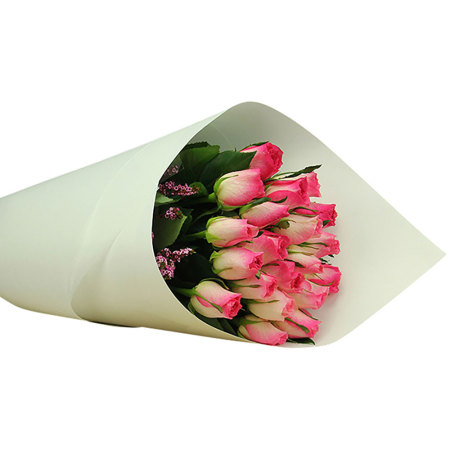 Fresh Hot Pink Rose Bouquet Delivered