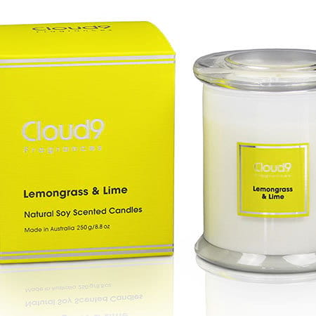 Lemongrass and Lime Soy Wax Candle 250g