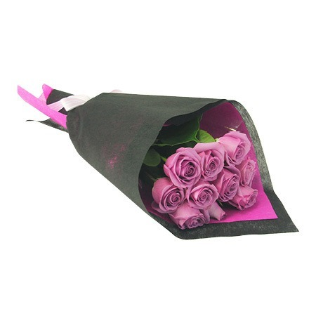 Lilac Rose Bouquet (10 Stems)