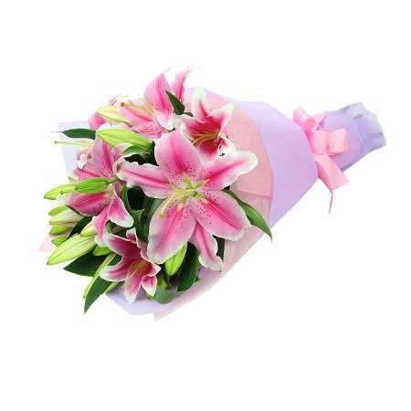 Lily Secretary Gift Bouquet