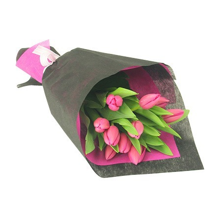Mothers Day Tulip Bouquet (10 Stems)