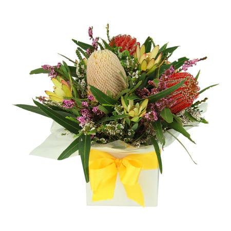 Natural Native Flower Box