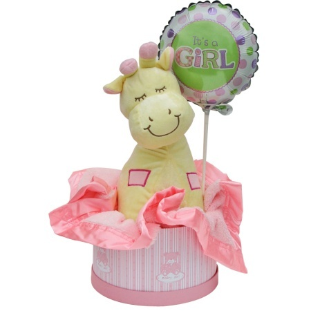 New Baby Girl Gift Hamper Small
