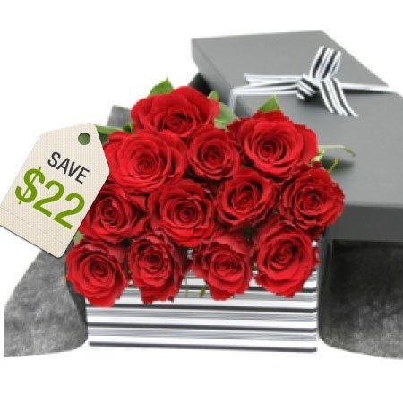 One Dozen Red Roses Sale