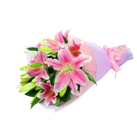Oriental Lilies just for Mum