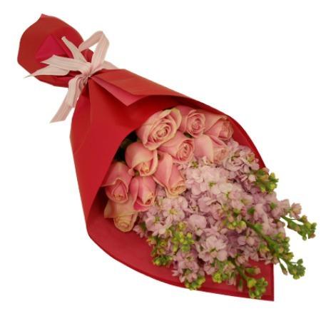 Pink Delight - Flower Bouquet