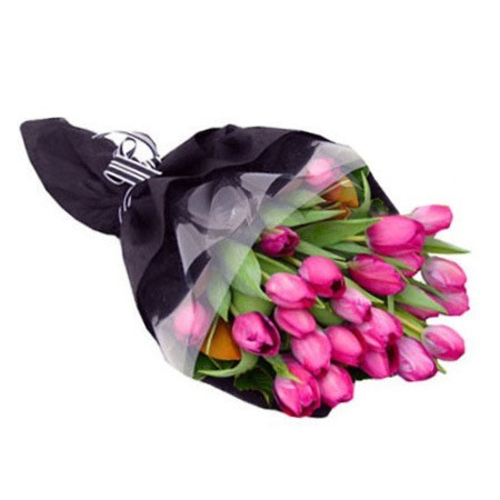 Pink or Red Tulip Bouquet
