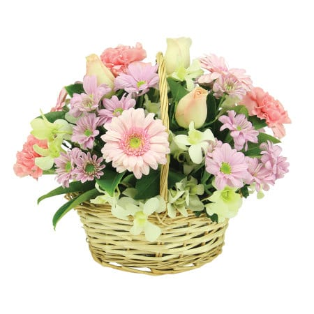 Country Cottage Flower Basket Delivered Sydney