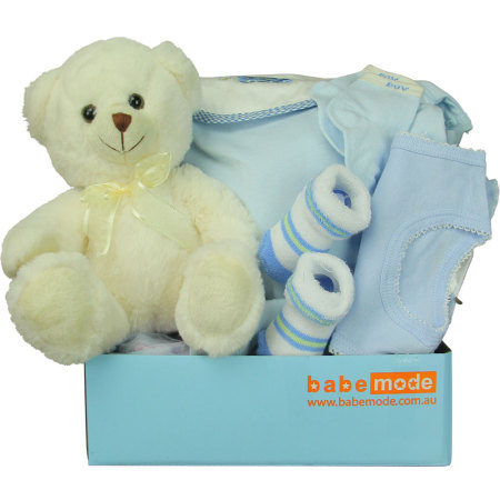 Brilliant Blue Baby Gift Hamper