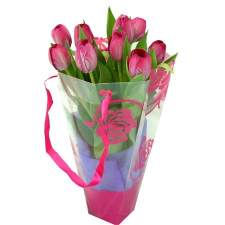 Secretaries Day Tulips Gift Bag