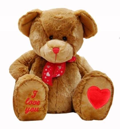 Valentines Teddy 28cm