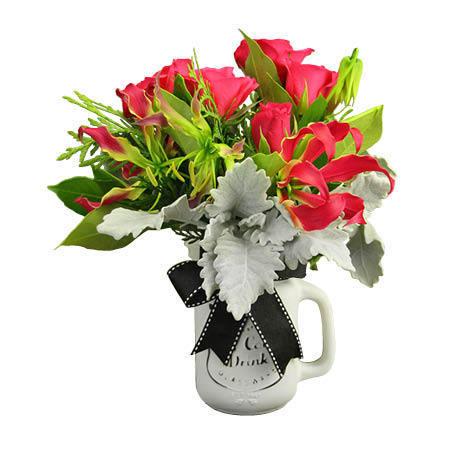 Xmas Flowers - Gloriosa Lilies