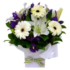 Cheap new baby flowers florists in sydney value flowers baby boy gift arrangement negle Image collections