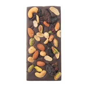 Dark Fruit n Nut Chocolate Bar Delivered Sydney