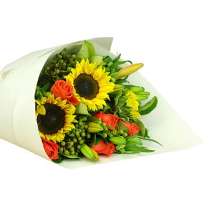 Deluxe Bright Flower Bouquet