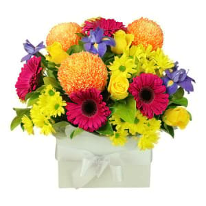 Deluxe Bright Flower Box