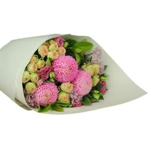 Deluxe Pastel Flower Bouquet