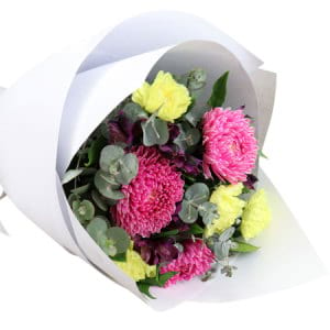 Frilly Mixed Flower Bouquet