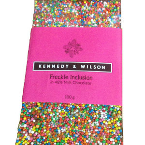 Milk Freckle Chocolate Bar 100g