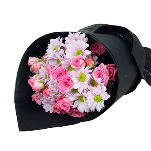 Cheap new baby flowers florists in sydney value flowers pink delight baby girl flowers negle