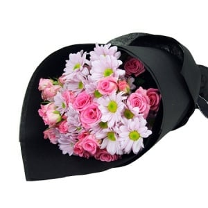 Cheap new baby flowers florists in sydney value flowers pink delight baby girl flowers negle Image collections