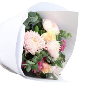 Pretty Pastel Flower Bouquet