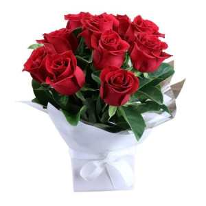 Romantic Red Rose Box