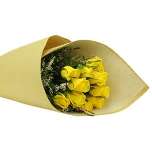 Yellow Rose Posy Delivered Sydney
